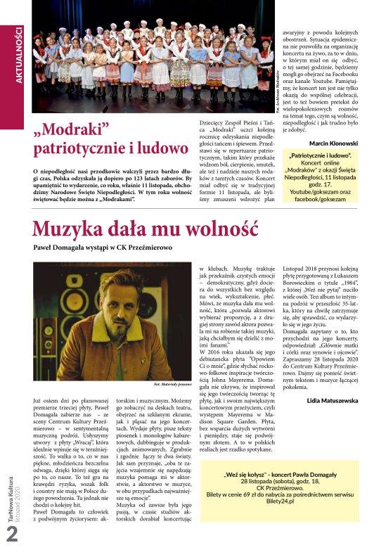 TarNowa Kultura 11/2020 strona 2