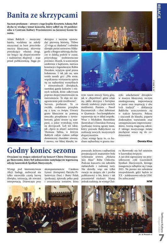 TarNowa Kultura 11/2020 strona 7
