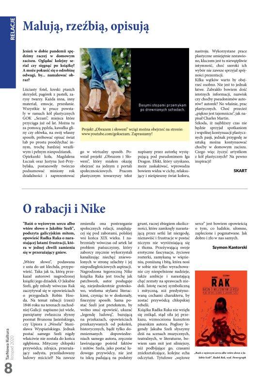 TarNowa Kultura 11/2020 strona 8