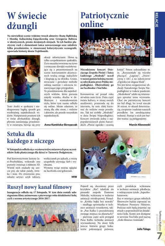 TarNowa Kultura 12/2020 strona 7
