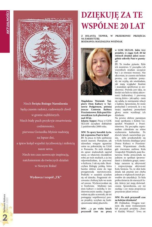 TarNowa Kultura 12/2020 strona 2