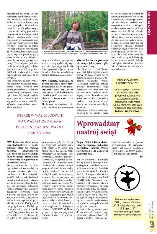 TarNowa Kultura 12/2020 strona 3