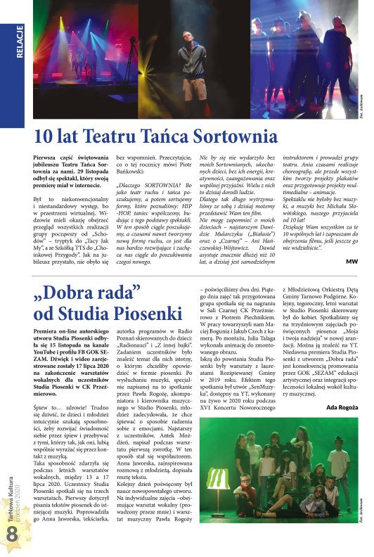 TarNowa Kultura 12/2020 strona 8