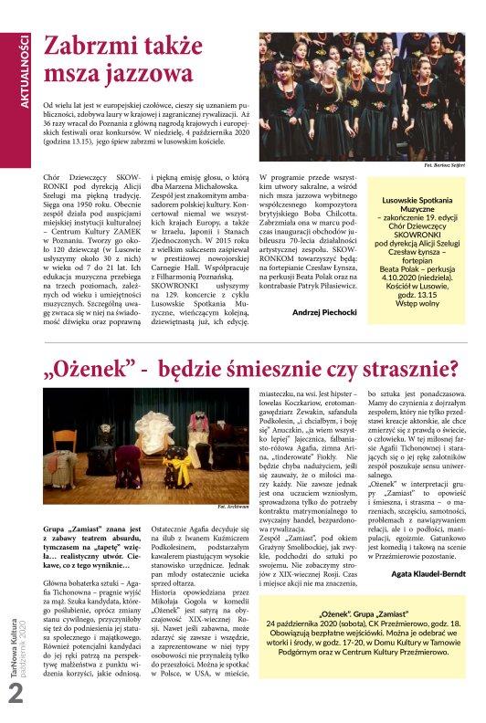 TarNowa Kultura 10/2020 strona 2