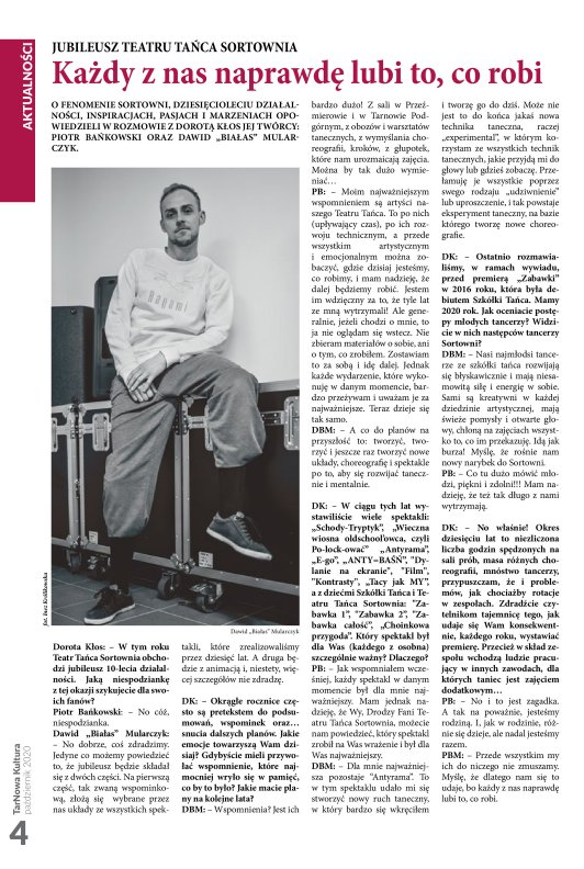 TarNowa Kultura 10/2020 strona 4