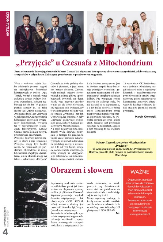 TarNowa Kultura 09/2020 strona 4