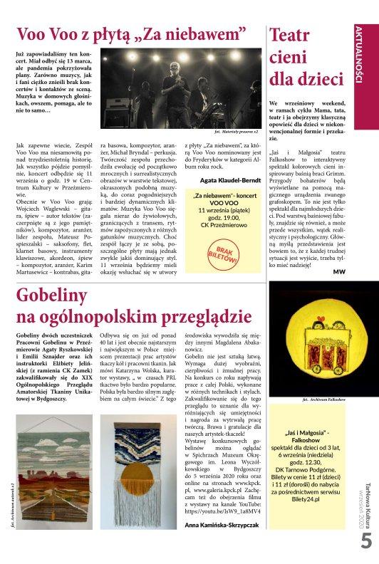 TarNowa Kultura 09/2020 strona 5