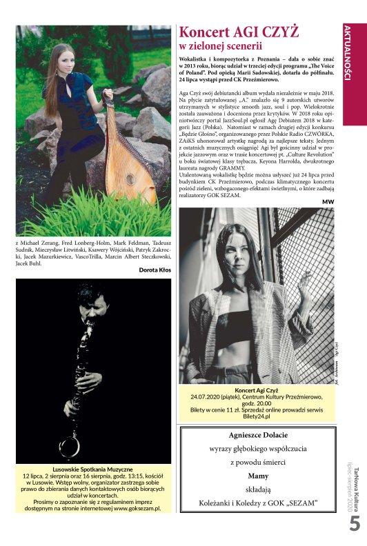 TarNowa Kultura 7-8/2020 strona 5
