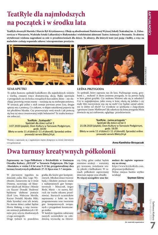 TarNowa Kultura 7-8/2020 strona 7