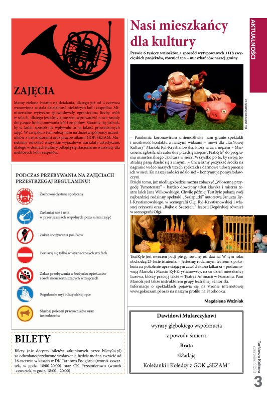 TarNowa Kultura 6/2020 strona 3