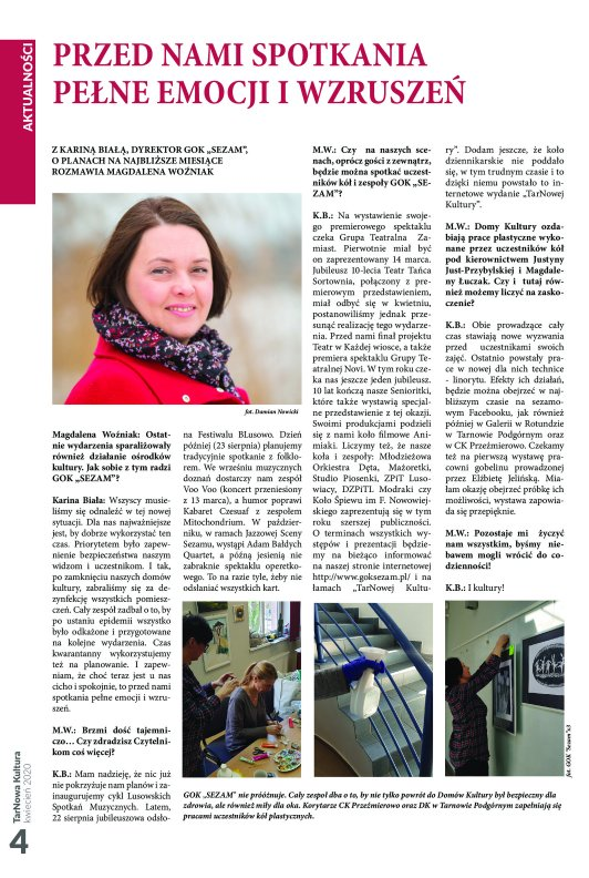 TarNowa Kultura 4/2020 strona 4