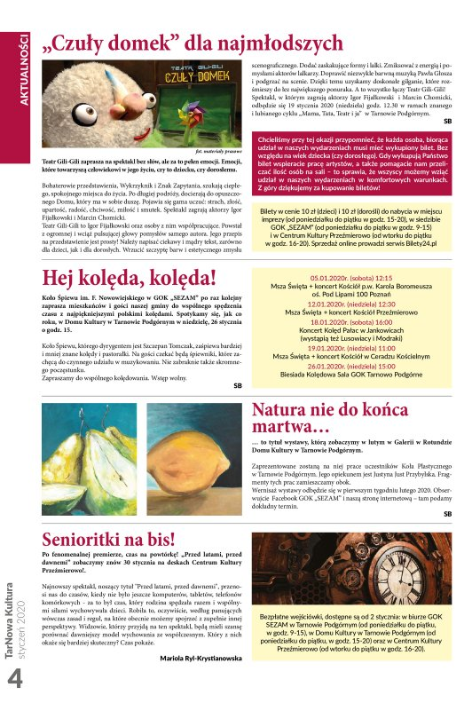 TarNowa Kultura 1/2020 strona 4