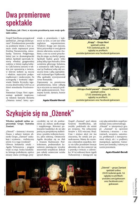TarNowa Kultura 1/2021 strona 7