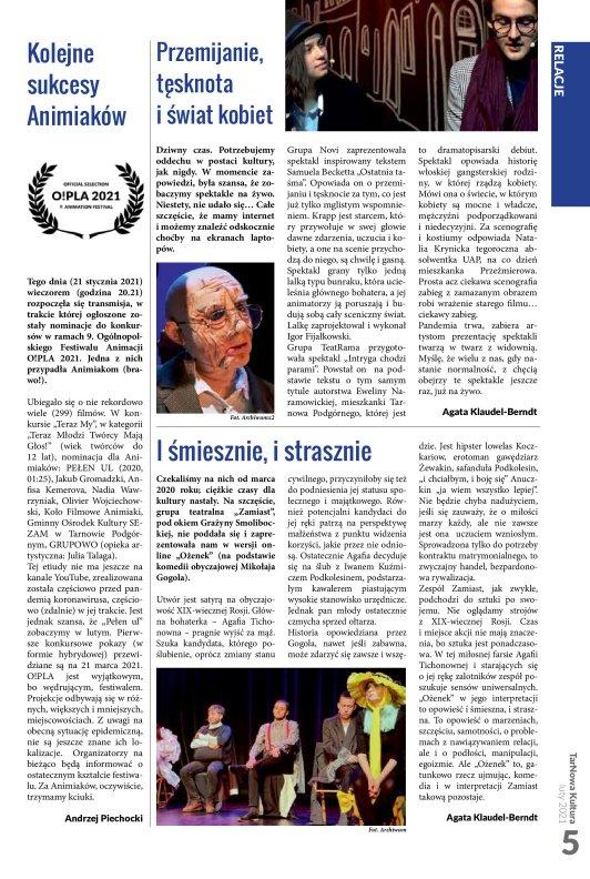 TarNowa Kultura 2/2021 strona 5