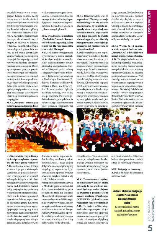 TarNowa Kultura 4/2021 strona 5
