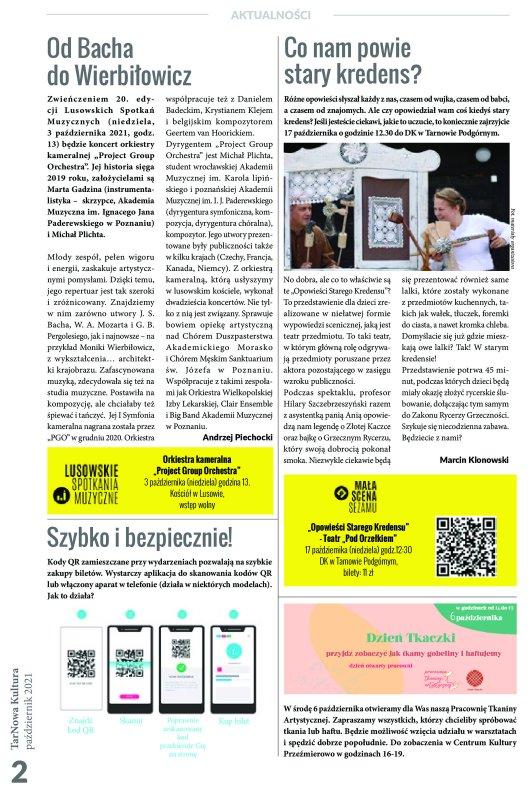 TarNowa Kultura 10/2021 strona 2