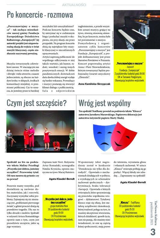 TarNowa Kultura 10/2021 strona 3