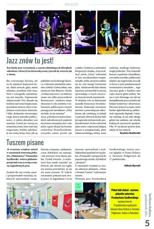 TarNowa Kultura 10/2021 strona 5