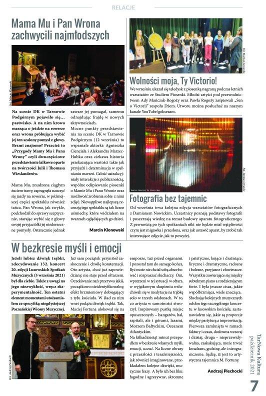 TarNowa Kultura 10/2021 strona 7