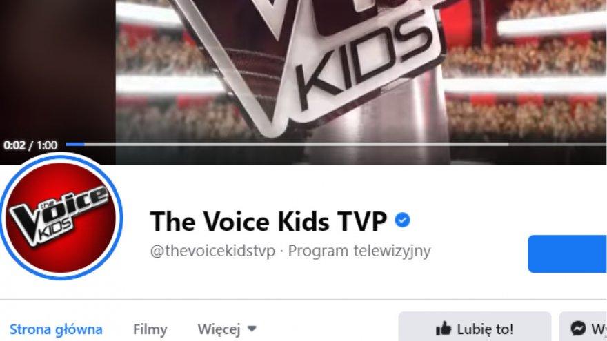 Gabrysia przed studiem programu The Voice Kids